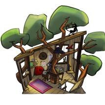 Environment layout
