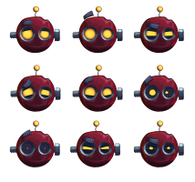 SpringJack Character Design