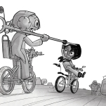 Knights&Bikes book1